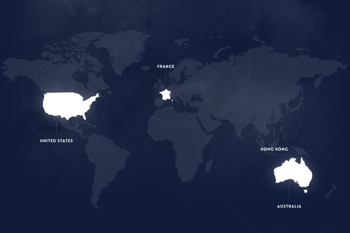 NewQuest is located in France, in Australia and in the United States